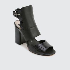 Dolce Vita Romeo Leather Sandal Black